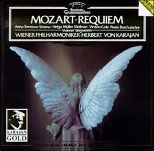 Mozart: Requiem 1987 CD DG Deutsche Grammophon Herbert Von Karajan Vinson Cole