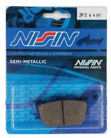 2P-244 NS NISSIN PASTIGLIE FRENO POSTERIOR SUZUKI V STROM 650 DAL 2004