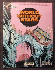 1982 WORLD WITHOUT STARS by Mezieres & Christin Dargaud UK VG- 3.5