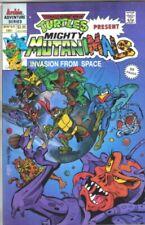 TMNT Turtles Present Mighty Mutanimals Comic Book Archie 1991 NEAR MINT UNREAD
