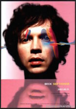2002 Beck Sea Change Japan album promo press print ad / mini poster advert b10r