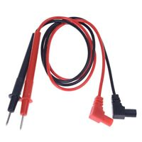 "28"" Multimeter Test Leads, Black and Red, 1 Pair X4C8"