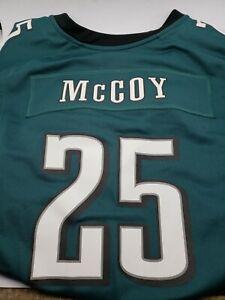 LeSean McCoy #25 Philadelphia Eagles NIKE Football NFL Jersey Women's Size 2XL