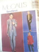 Vintage 2000 Sewing Pattern Jacket-Top & Pull on Pants Size 16-18 Uncut