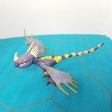 "How to Train Your Dragon Deadly Nadder Light Up Purple Yellow 9"" Working"