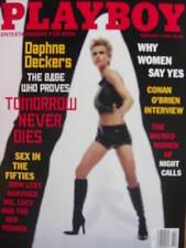 DAPHNE DECKERS 2/98 Playboy CONAN O'BRIEN JULIA SCHULTZ