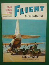 2/1962 PUB SHORT BROTHERS BELFAST RAF TRANSPORT COMMAND ALVIS SALADIN COVER AD