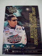Bobby Labonte High Gear Wheels 2000 #51 racing card MCI Worldcom Fast Pace