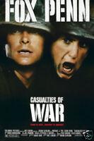 Casualties of war Sean Penn vintage movie poster