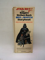 Star Wars Empire Strikes Back Mix or Match Story Book 1980 1st ed