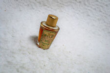 Vintage/OLD Miniature Perfume AILE 80 CHABRIER Paris Gold Foil Label & Top Full
