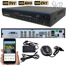 Sikker Standalone 8 CHANNEL 1080P 720P H.264 DVR Recorder Security System HDMI