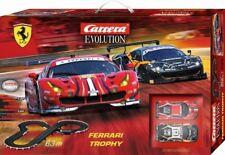 CARRERA 25230 EVOLUTION FERRARI TROPHY NEW 1/32 ANALOG SLOT CAR RACE SET