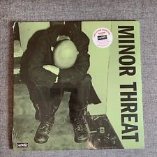 MINOR THREAT S/T LP SEALED Vinyl Dischord Records green cover fugazi teen idles