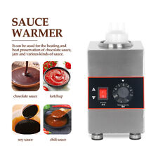 More details for itop 160w stainless steel electric chocolate jam sauce warmer capacity 650ml