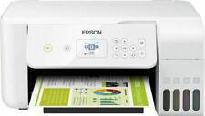 Epson EcoTank ET-2726 Stampante Multifunzione a Colori a Getto d'Inchiostro - Bianco