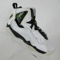 Nike Air Jordan True Flight Basketball Shoes Black/Coral Rose 343795-172 Sz 5.5Y