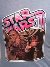 Vintage 1977 Star Wars Han Solo Harrison Ford Chewbacca T Shirt 20th Century Fox