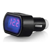 LCD Cigarette Lighter Voltage Digital Panel Meter Volt Voltmeter Monitor Car New