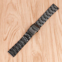 20/22mm Stainless Steel Wrist Watch Band Strap Replacement Solid Link Bracelet