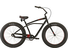 "Felt Float Fat Tire Cruiser, 3Gang, Fat Bike Fatbike, Chopperbike, 26x4.0"" black"