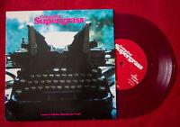 """SUPERGRASS 7"""" Burgundy ldt vinyl UK GOING OUT Blur OASIS BRITpop"""