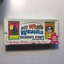 My Kookie  Klassmates cards rare 24 packs box 1975