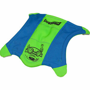 Chuckit! FLYING SQUIRREL Dog Fetch Toy Floating Flyer Glowing Paws MED 10-inch