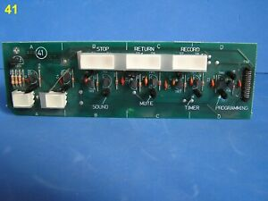 Bang & Olufsen BEOCENTRE 9500 Spare Part—Keyboard Lower Display Circuit Board 41
