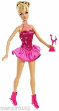 Barbie Life in the Dream House Doll I Can Be Ice Skater Career Doll New