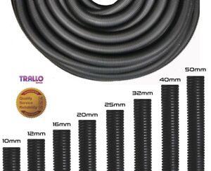 Quality Polypropylene Solid & Split Black Conduit - Cable Tidy-Cable Management
