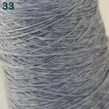 Sale 500gr NEW Hand woven Knitting Cone Yarn Chunky Colorful Wool Cashmere 33