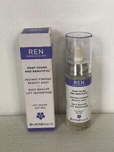 REN Instant Firming Beauty Shot 30ml BRAND NEW IN BOX RRP £42