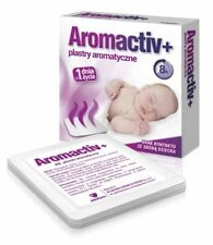 Aromactiv + aromatic medical plaster , safe since birth, 5 pieces
