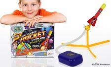 STOMP ROCKET LAUNCHER AIR POWERED KIDS TOY INDOOR OUTDOOR GARDEN FUN