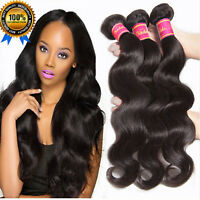 LA POSTE Tissage brésilien cheveux naturels remy BODY WAVE VIRGIN HAIR STRIGHT