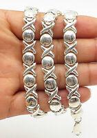 N-137 18K White Gold Filled VintageTwisted Necklace