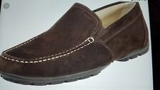 Geox Mens U Monet 45 Brown coffee Suede Moccasins  Casual Loafers Shoes