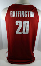 Alabama Crimson Tide Varisia Raffington #20 Game Used Red Jersey