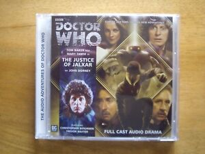 Doctor Who The Justice of Jalxar, 2013 Big Finish audio book CD