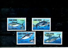 CABO VERDE, 1997, FISHES- TUNA,4v. MNH,