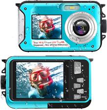 Waterproof Digital Camera Underwater Camera Full HD 2.7K 48 MP Video Recorder Se