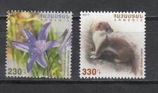 Armenia MNH** 2017 Mi.1058-59 Flora and Fauna