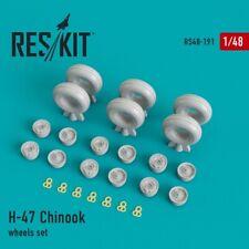 ResKit RS48-191 1/48 Resin Boeing CH-47 Chinook wheels set