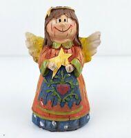ANGEL Holding Star Figurine Mission Gallery Children's Nativity Christmas Creche