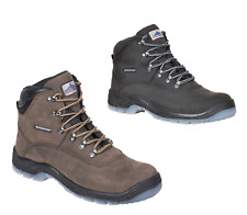 Portwest All Weather Work Safety Boot Shoes Steel Toecap Leather Waterproof FW57