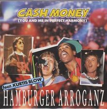 "Hamburger Arroganz Cash Money (Feat. Kurtis Blow) 80`s Mercury 7"" Single"