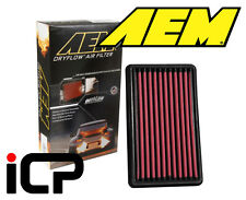 AEM Washable Uprated Panel Air Filter Fits: Subaru Impreza Turbo 92-07 WRX STi