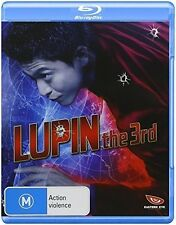 Lupin The Third (Live-Action) (2015, REGION ALL Blu-ray New)