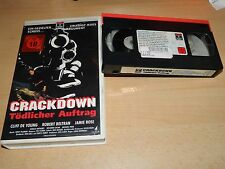 Crackdown - Tödlicher Auftrag - Cliff De Young - RCA Columbia - no DVD - ab 18
